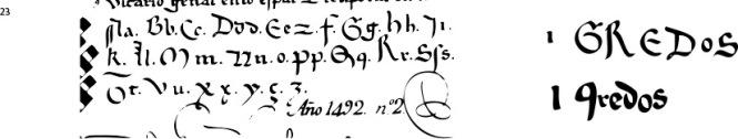 pruebas tipos escuela paleográfica
