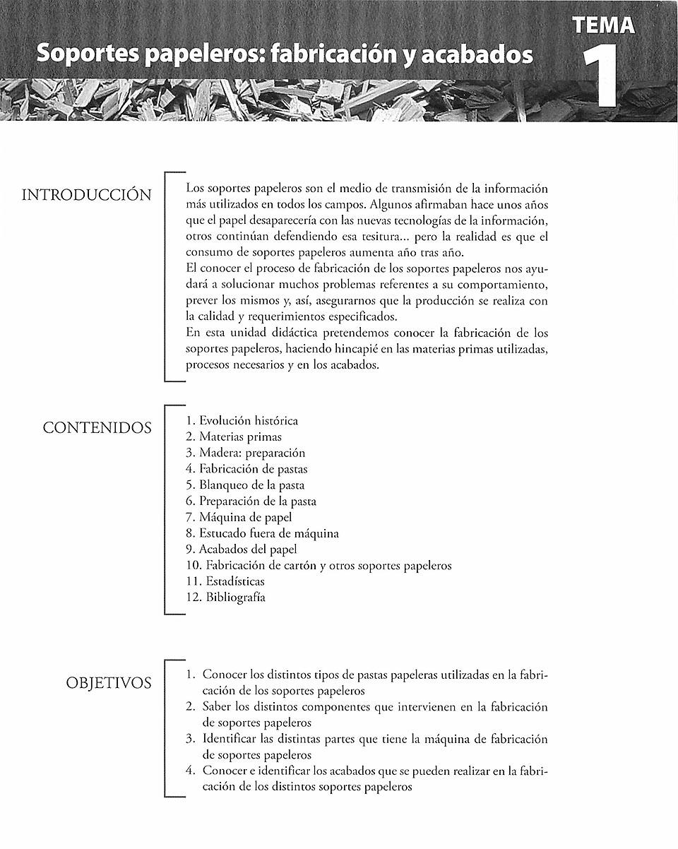 Materiales de producción en artes gráficas, capítulo 1, jesús García, Juan José Rodriíguez