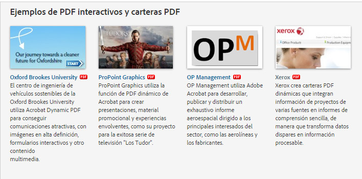 pdf interactivo, libro electrónico,