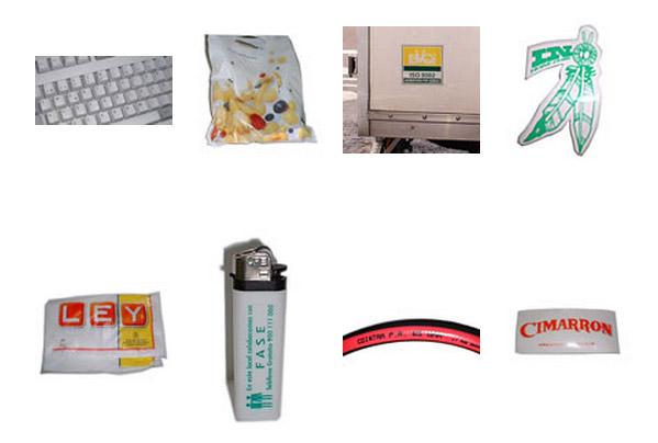 plásticos impresos, materiales de producción en artes gráficas, materias primas en artes gráficas, soportes no papeleros