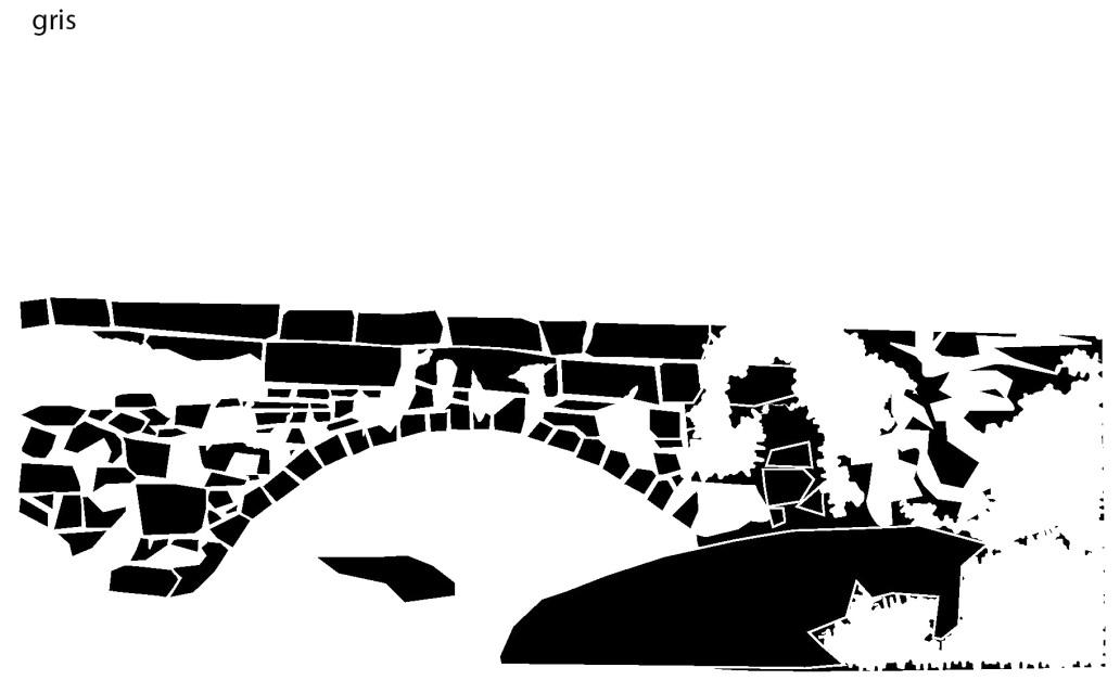 puente nava del barco, ávila, gredos, serigrafía, jesús garcía jiménez