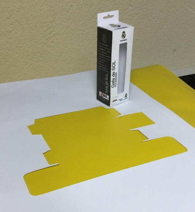 `packaging, departamento artes gráficas salesianos atocha, esko, impresión y corte, roland Truevis