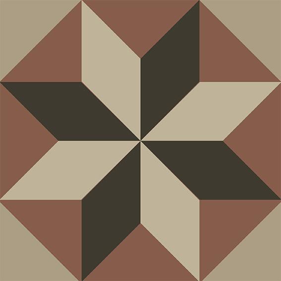 mosaicos vintage, jesus garcía jiménez, impresión digital, diseño