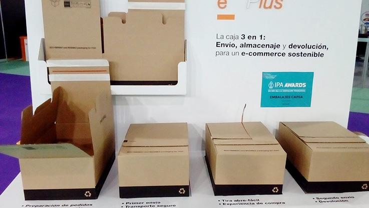 caja de cartón ondulado, Empack 2018, Jesús García Jiménez, jesusgarciaj, packaging