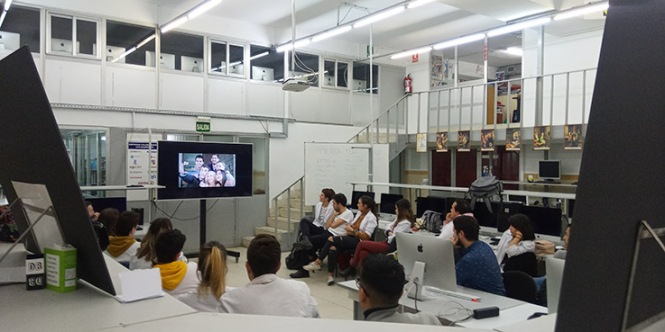 Charla Ángel Moreno, agencia la Moderna, Diseño,
