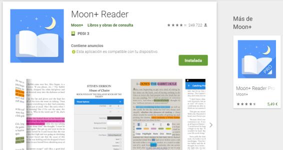 moon reader
