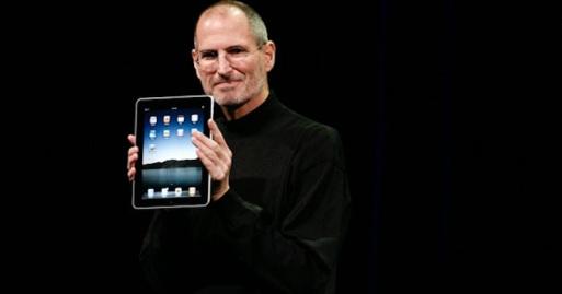 IPad, Steve Jobs, 2010