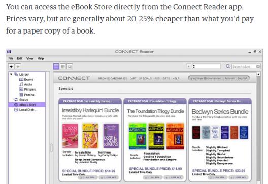 web para publicar sony reader